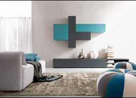 Minimalista Doimo Cityline Salotti Composition For Living Rooms, Customizable | Idfde