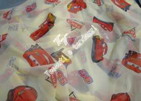 Fresco Tende Cameretta Cars Tenda Velo Disney Cars P