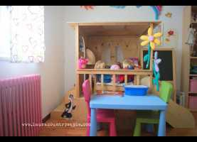 Elegante Tende Per Camerette Bambini Ikea Camerette ~ Ikea Kura Bed. With The Green Tent On Top/ Underneat