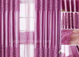 Fresco Tende Cameretta Fucsia Floreale Fucsia Colore Energy Saving Tende Camera Divi