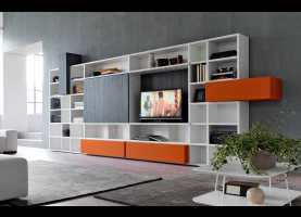 A Buon Mercato Doimo Cityline España Contemporary Tv Wall Unit / Modular - Citylife 34 - Doimo City