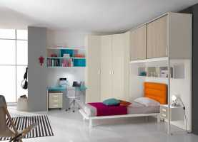 Incredibile Camerette Junior 4 The Bedrooms Bright, Colorful And Safe For Kid