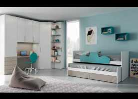 In Esclusiva Mistral Camerette Immagini Camerette ~ Space Saving Bedroom 29 Evo, Space Saving Solution