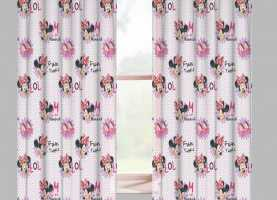 Fascino Tende Per Cameretta Amazon Disney Minnie Tenda Cameretta In Voile Lol: Amazon.It: Casa E Cu
