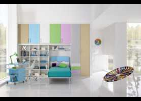 Elegante Letti Per Camerette Spar A World Of Colors In The Bedrooms Of The Line Spar Junior. Qualit