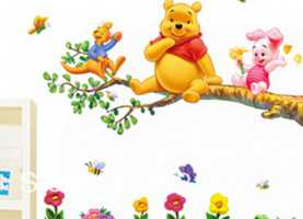 Bene Adesivi Cameretta Winnie The Pooh Custom 30+ Winnie The Pooh Wall Art Decorating Design Of Wal