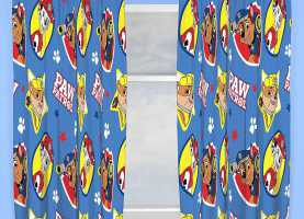 Magnifico Tende Cameretta Paw Patrol Paw Patrol Pawsome Single Duvet Cover Set Rotary + Matching 7