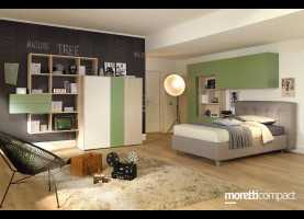 Divertente Moretti Compact Camerette Young Cameretta Young Yc307 - Mosch