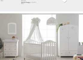 Esotico Cameretta Pali Prestige Little Star Baby Cots High Quality Furniture Made In Italy My Italian Co